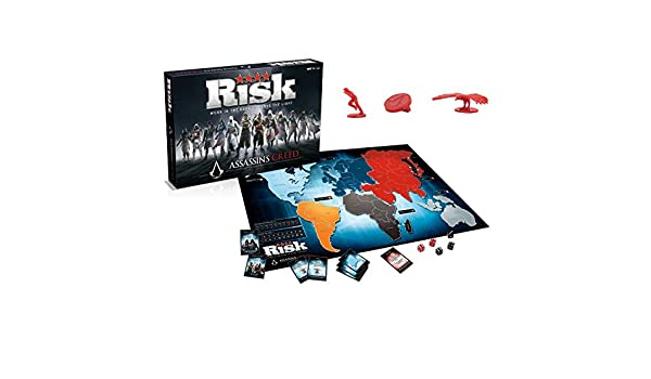 Assassins Creed - Winning Moves Juego de Mesa Oficial Risiko Risk ...