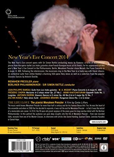 Berliner Philharmoniker - New Year's Eve Concert 2014 - Simon Rattle, Menahem Pressler (Rattle God)