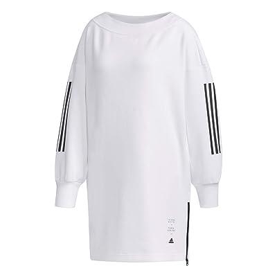 adidas Womens ID Tunic White Long Sleeve - ED1414 (Medium): Sports & Outdoors