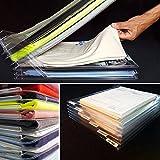 BFY 10Pcs Household Anti-wrinkle Neat Clothes Storage Holders T-shirt Organization System Travel Storage Racks