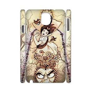 T-TGL(RQ) Customized New Printed Phone Case for Samsung galaxy Note 3 N9000 3D diy snow White case