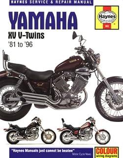 yamaha xv virago v twins 1981 to 2003 haynes manuals alan rh amazon com yamaha virago 250 xv250 workshop repair manual yamaha virago 250 repair manual