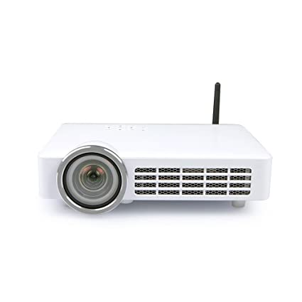 Amazon.com: newpal, Bluetooth, WiFi Proyector 800 ANSI 3d ...