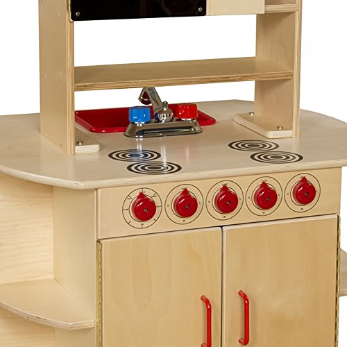 Wood Designs WD10875 All-In-One Kitchen Center by Wood Designs