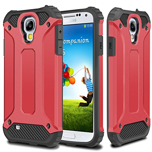 galaxy s4 red and black case - 8