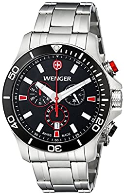 Wenger-Men-s-0643-101-Analog-Display-Swiss-Quartz-Silver-Watch