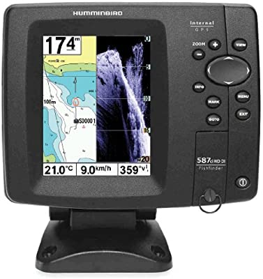 sondeur Echo Radar pesca ff587ci hd-di Down Imaging, portable ...