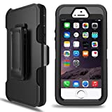 iPhone 5S Case, iPhone 5/5S/SE Defender Case with Belt Clip, Kickstand, Holster, Heavy
