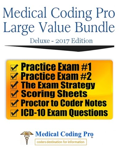Medical Coding Pro Large Value Bundle Deluxe 2017 Edition