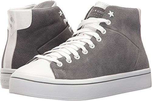 Skechers Hi-Lite Sugar High Womens Court-Style High Top Sneakers Gray 6