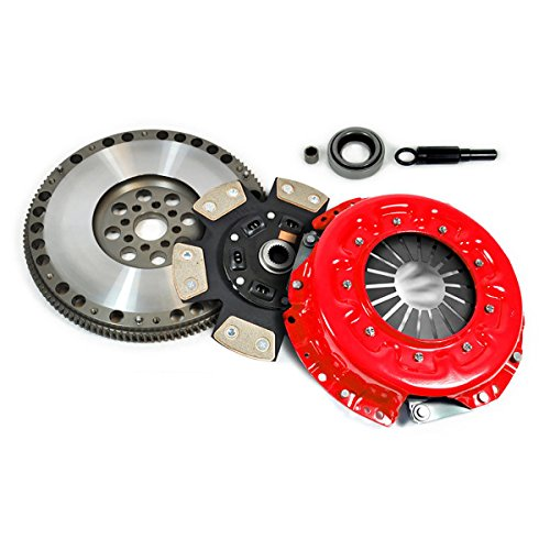 EFT STAGE 3 CLUTCH KIT + FORGED FLYWHEEL fits 90-96 NISSAN 300ZX 3.0L NON-TURBO