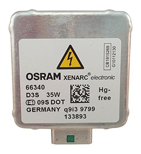 OEM 66340 OSRAM D3S Xenon HID Headlight - Xenon Headlight Hid