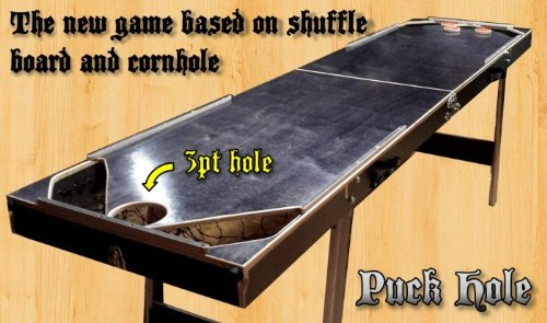 Puck Hole - A Mix Between Shuffleboard and Cornhole by Vorticy (Image #4)