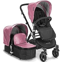babyroues Letour Lux IIB Stroller, Pink