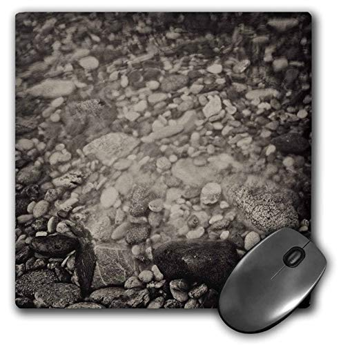 3dRose Kike Calvo Patagonia ISLA DE Los ESTADOS - Sepia Stones, Staten Island, Tierra de Fuego - Mousepad (mp_233849_1)