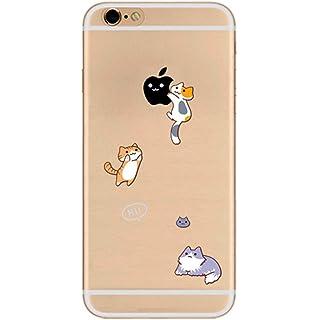 Freessom Coque Iphone 5 5s Silicone Transparent Avec Motif Drole