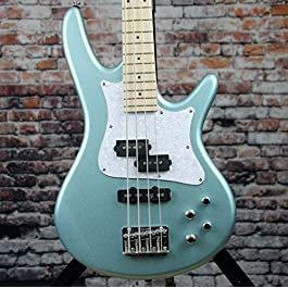 Ibanez SRMD200 SR Mezzo 32″ Medium Scale Electric Bass Guitar (Sea Foam Pearl Green)