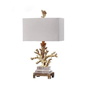 Table Abat Chambre Résine Jour Lampe Chevet De Corail Blanc PkiZXu