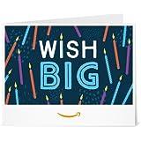 Amazon Gift Card - Print - Wish Big