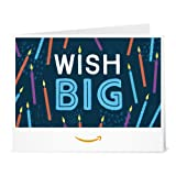 Amazon Gift Card - Print - Wish Big