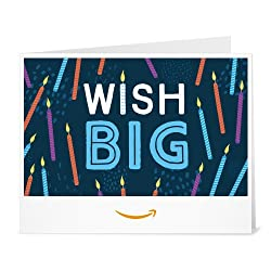 Wish Big Amazon - Print at Home link image