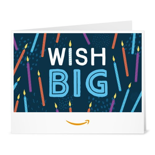 Large Product Image of Amazon Gift Card - Print - Wish Big