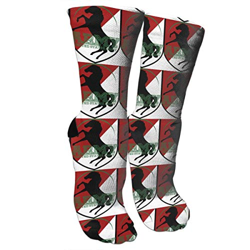 LALABULU Crazy Socks US Army 11th Armored Cavalry Regiment 3D Crew Socks ()