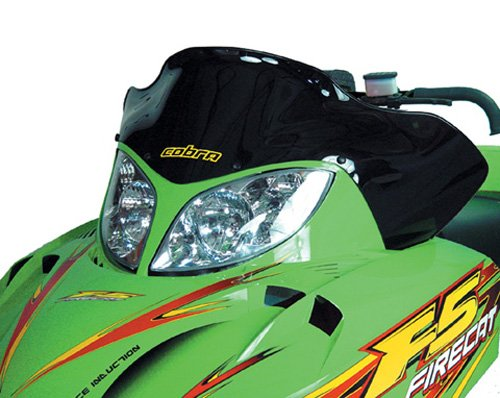 Cobra Arctic Cat Zr4 Low Black 14.25'' by PowerMadd