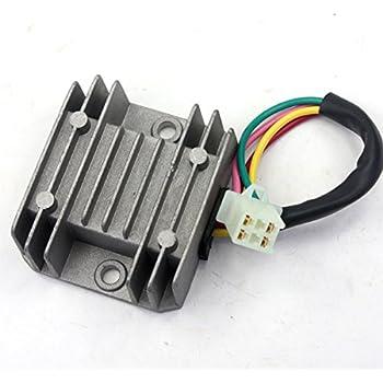 4 wire atv voltage regulator wiring diagram electrical wiring diagram rh electricalbe co GM Voltage Regulator Wiring Diagram Ford External Voltage Regulator Wiring Diagram