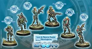 Infinity: Ariadna - Merovingian Rapid Response Force by Corvus Belli S.L.L.: Amazon.es: Juguetes y juegos