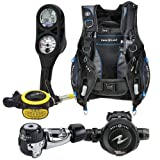 Aqua Lung Essential Package Pro HD BCD Size MD Titan Regulator ABS Octo i300 Computer SPG Console Aqualung Scuba Diving Combo Set Medium