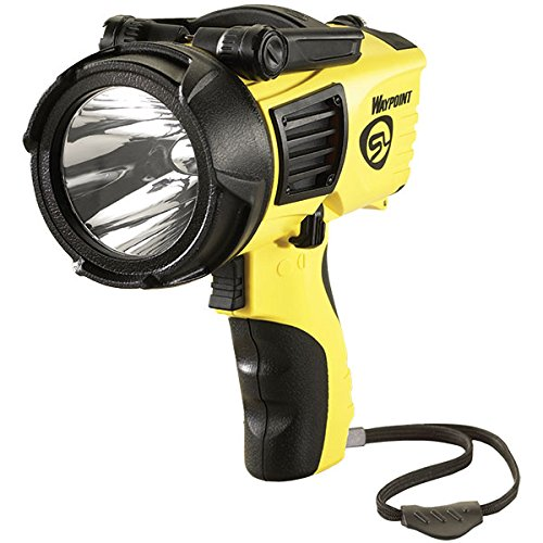 Streamlight Waypoint Spotlight W  12V Cord  Yellow