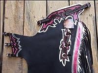 Hilason Black Smooth Leather Bronc Bull...