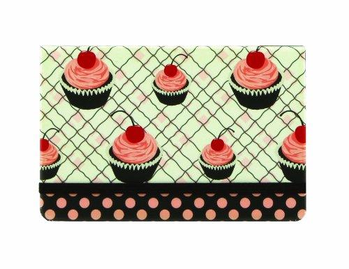 C.R. Gibson Jessie Steele Coupon Keeper, Cherry (Cupcake Keeper)