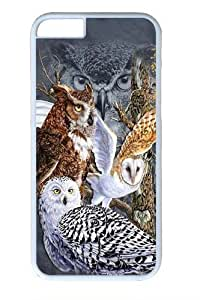 Find 11 Owls PC For HTC One M9 Phone Case Cover WhiteKimberly Kurzendoerfer