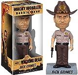 Rick Grimes Bobble Head Figure: Walking Dead x Wacky Wobbler Series by Walking Dead