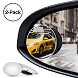 Best Blind Spot Mirrors - Nebudo Blind Spot Mirror, Rearview Frameless Convex Round Review