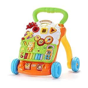 DMMW Andador para Bebé Andador de la Carretilla multifunción Anti ...