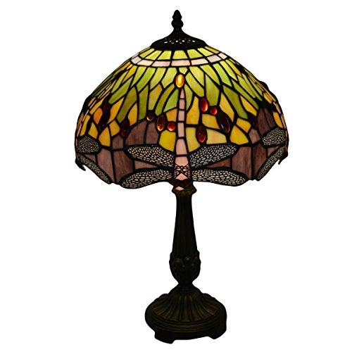 Nuomeiju Lighting NMJ200 Tiffany-Style 1 - 1 Iris Table Lamp Shopping Results
