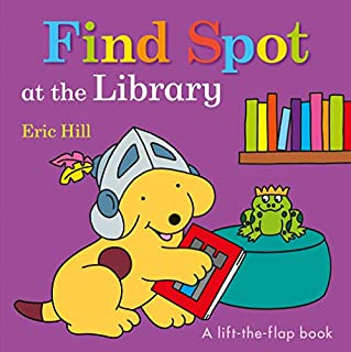 Book Cover: Find Spot at the Library