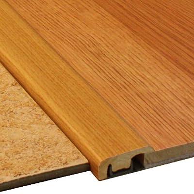 Cal-Flor TH20132 Threshold End Cap Wood Molding, 72-Inch, Natural Oak, 2-Pack