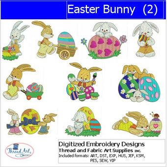 Easter Machine Embroidery Designs - 3