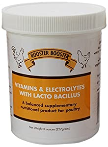Rooster Booster Vitamins and Electrolytes with Lactobacillus from Rooster Booster