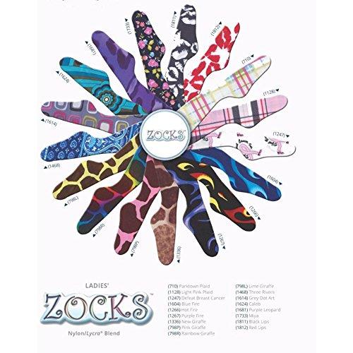 Chaussettes De Démarrage Zocks Par Ovation 1753 Turq Katies Dentelle