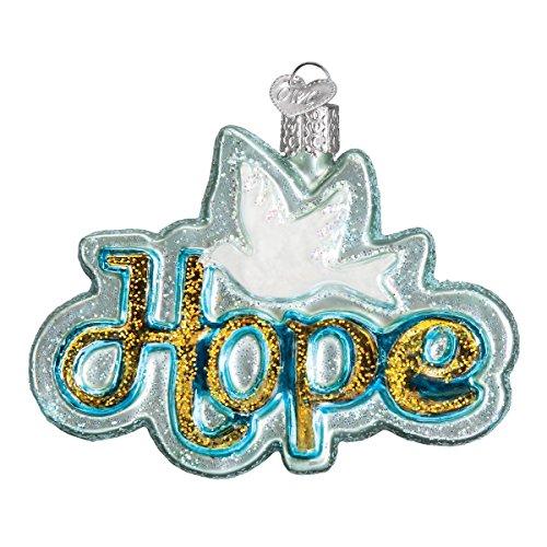 Old World Christmas Glass Blown Ornament - Hope Christmas Ornament