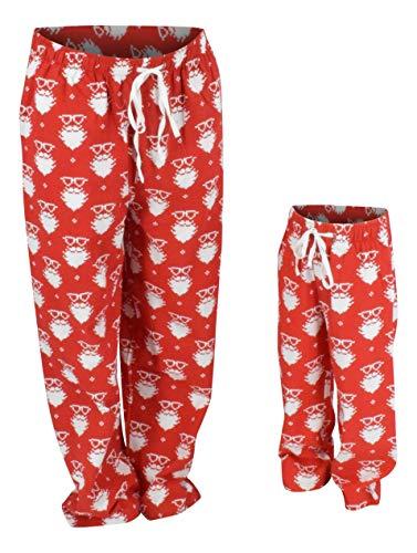 UB Boys Christmas Santa Matching Family Pajama Pants (3t)]()
