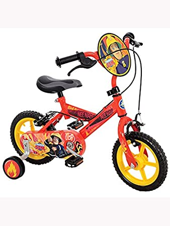 Fireman Sam Boy's Bike, 12 inch: Amazon.co.uk: Sports & Outdoors