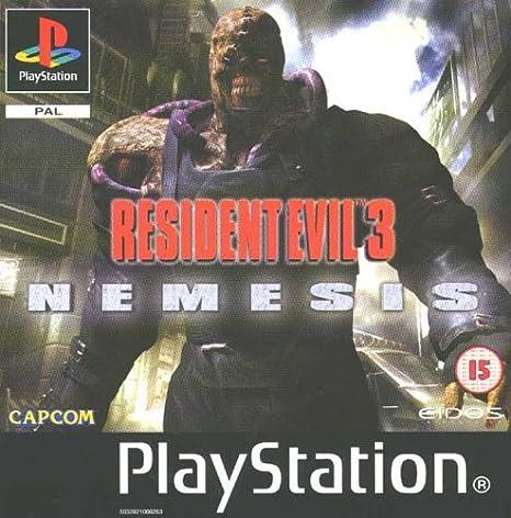 resident evil 3 nemesis ps1