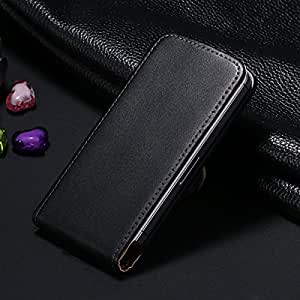 20Pcs Retro Real Genuine Leather Case for iPhone 4 4S Luxury Vertical Magnetic Flip Phone Accessories Cover cases for iphone4s --- Color:Brown