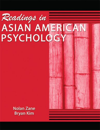 Readings in Asian American Psychology